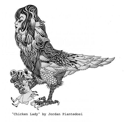 chicken lady